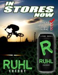 Chad Ruhl Energy drink